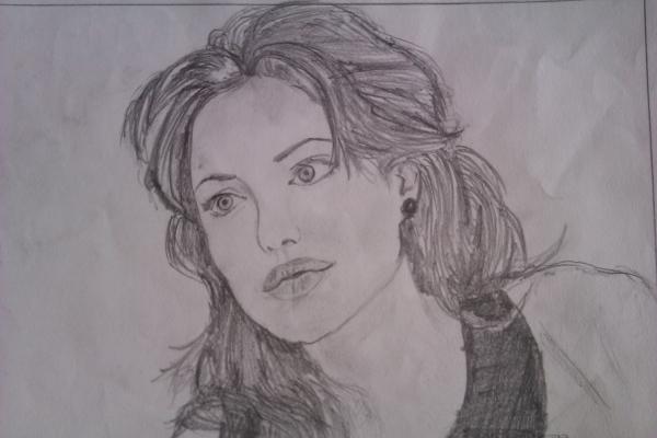 Angelina Jolie par mounika